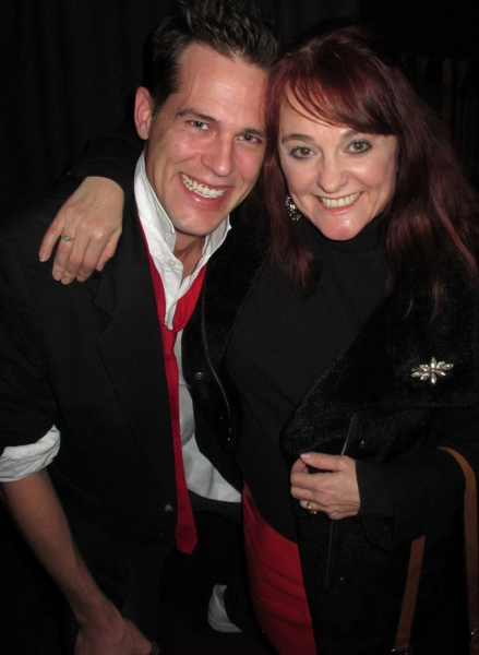 Matthew Herrmann as Lloyd with Julie Brown