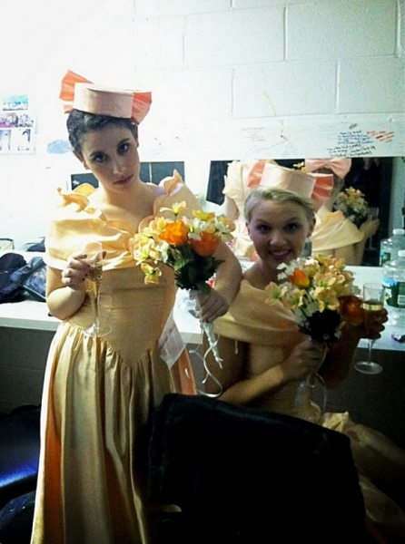 Photo Flash: Saturday Intermission Pics, March 9, Part 2 - First SIPs from MATILDA and More!