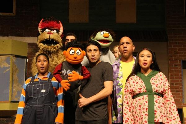 (left to right) Celia M. Rivera, Matthew Artson, Aric Martin, Anna Younghans, Keith E Photo