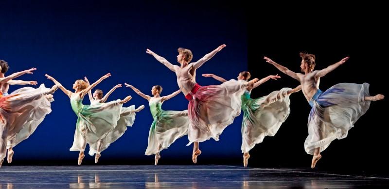 Ballet: PACIFIC. Choreographer: Mark Morris. Dancer(s): Artists of Houston Ballet.