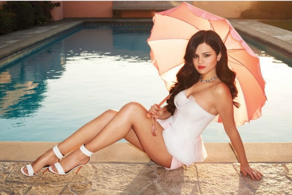 Photo Coverage: Selena Gomez's  Cover Shoot for Harper's Bazaar