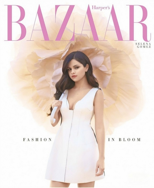 Photo Coverage: Selena Gomez's  Cover Shoot for Harper's Bazaar