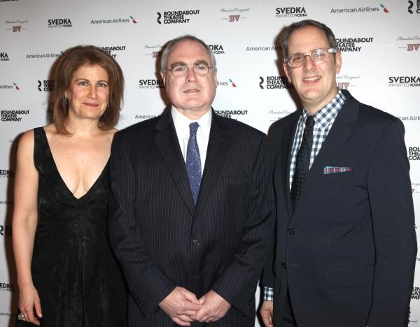 Julia Levy, Todd Haimes & Harold Wolpert  Photo