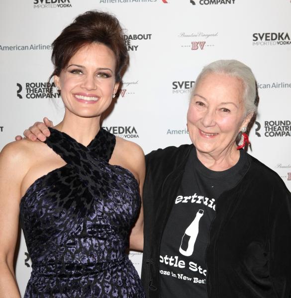 Carla Gugino & Rosemary Harris