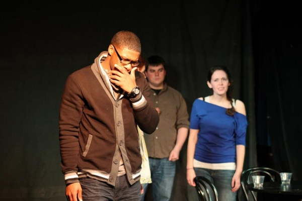 Russell Pierre as Martin, Ross Childs as Leif & Katherine Rinaldi as Anne.