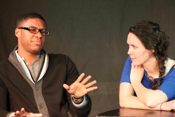Russell Pierre as Martin & Katherine Rinaldi as Anne.