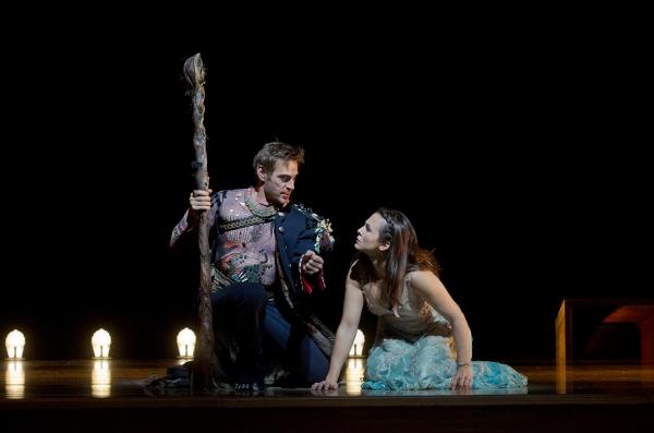 Simon Keenlyside and Isabel Leonard Photo