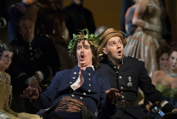 Kevin Burdette and Iestyn Davies Photo
