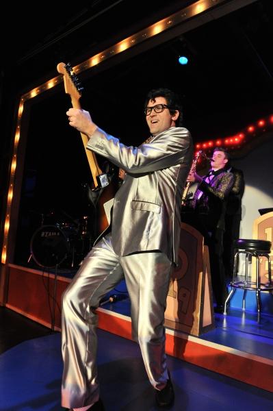 Ralph Krumins as Buddy Holly