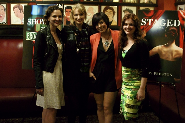 Roberta Pereira (DCP co-founder), Kristen Connolly (House of Cards), Krysta Rodriguez (SMASH), Brisa Trinchero (DCP co-founder)