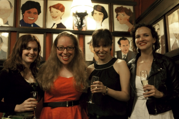 Photo Flash: Inside STAGED's Book Launch Party!