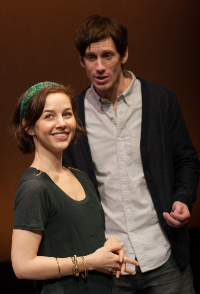 Jessica Grove and Andrew Samonsky