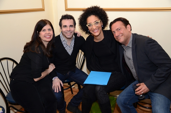 Dayle Reyfel, Mario Cantone, Carla Hall and Eugene Pack
