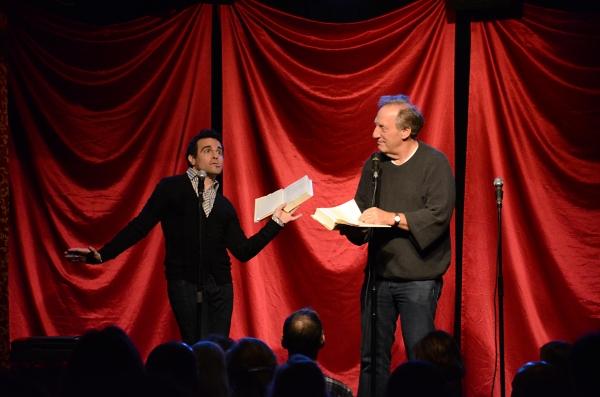 Mario Cantone and Alan Zweibel read Geraldo Rivera and Liza Minnelli.