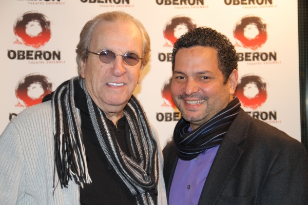 Danny Aiello and director Alexander Dinelaris