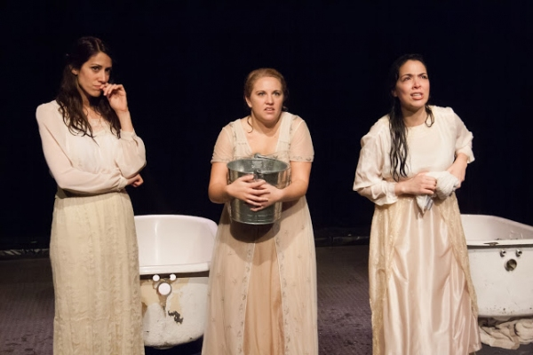 Kate Danson, Marissa Porto and Nancy Rodriguez