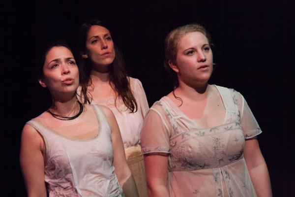 Photo Flash: First Look at Kate Danson, Marissa Porter and More in THE DROWNING GIRLS