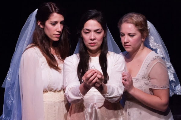 Kate Danson, Nancy Rodriguez and Marissa Porto