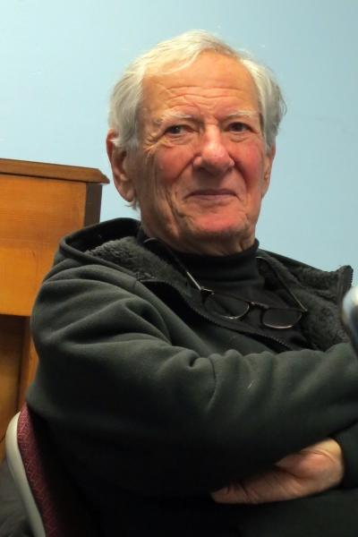 Playwright Robert Brustein.