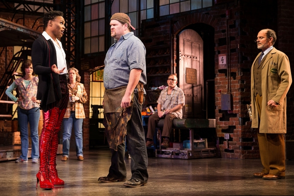 Photo Flash: KINKY BOOTS Opens on Broadway Tonight!