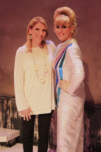 Photo Flash: Lisa Lampanelli Sings Along with FOREVER DUSTY!