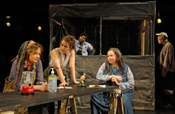 Photo Flash: New Images of Trinity Rep's SOCIAL CREATURES Cast in Action!