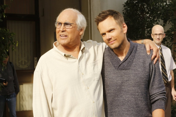 Chevy Chase, Joel McHale, Jim Rash Photo