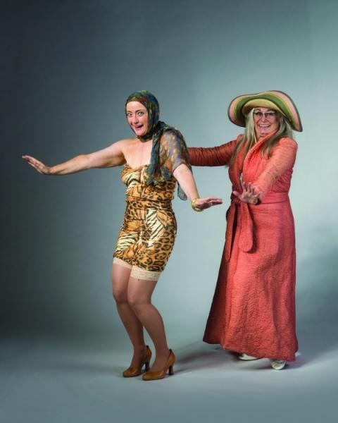 Patti Cohenour and Suzy Hunt