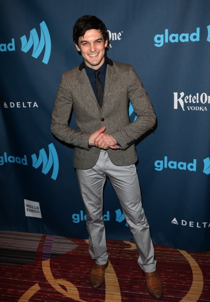 Photo Coverage: GLAAD Red Carpet, The Men - Anderson Cooper, Christian Borle, Dan Stevens and More!