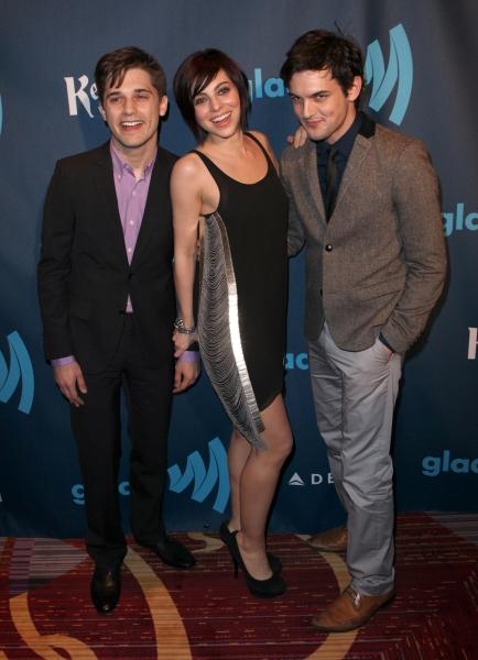 Andy Mientus, Krysta Rodriguez & Wesley Taylor