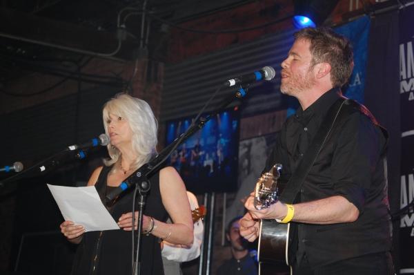 Emmylou Harris and Josh Ritter Photo
