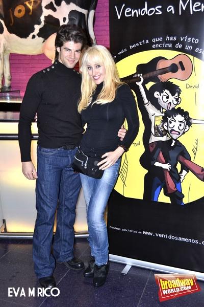 Sergio Arce y Geraldine Larrosa