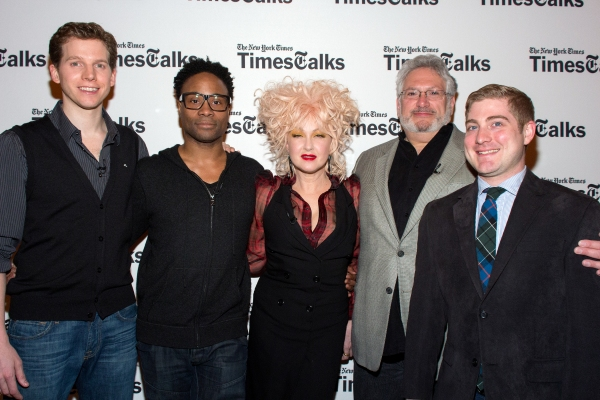 Billy Porter, Stark Sands, Cyndi Lauper, Harvey Fierstein, Brian Usifer Photo