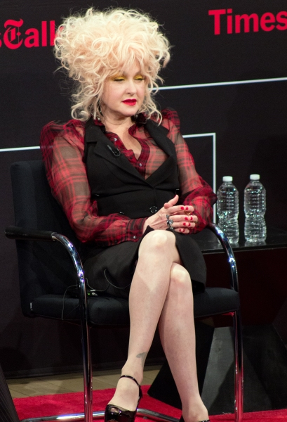 Photo Coverage: Cyndi Lauper & Harvey Fierstein Visit TimesTalks