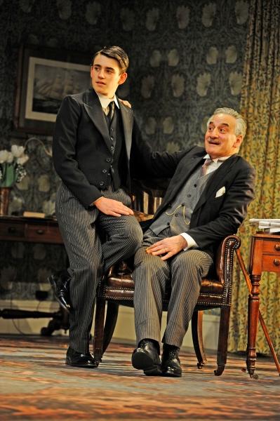 Charlie Rowe and Henry Goodman