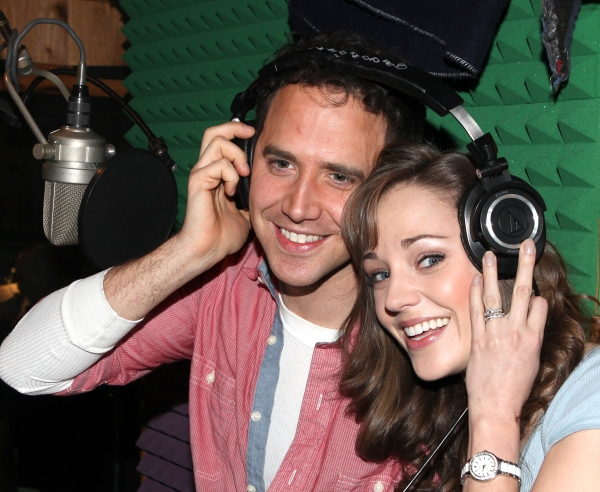 Photo Coverage: CINDERELLA Cast Makes an Enchanted Cast Alum- Inside the Recording Sessions!