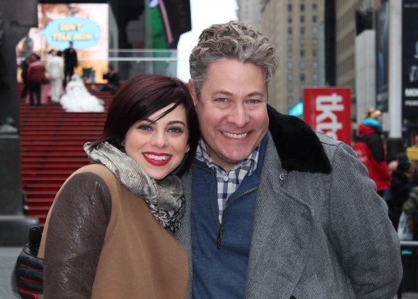 Krysta Rodriguez and Timothy Allen McDonald  Photo