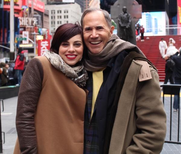 Krysta Rodriguez with Freddie Gershon
