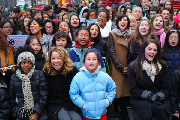Photo Coverage: Krysta Rodriguez & More at National MUSICALS IN OUR SCHOOLS Launch