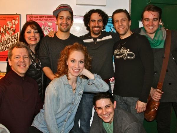 David Caldwell, Lindsay Nicole Chambers, Marcus Stevens, Gina Kreiezmar, Lin-Manuel M Photo