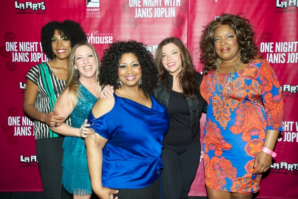 Shay Saint-Victor, Tricia Kelly, Kimberly Yarbrough, Mary Bridget Davies and Sabrina Elayne Carten