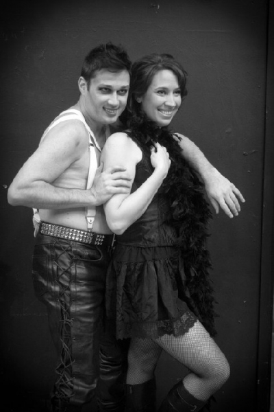 Chad-Alan Carr and Emily Falvey Photo