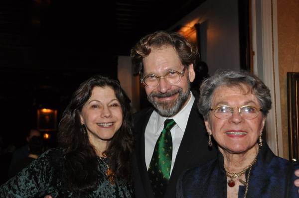 Natasha Staller, David Staller and Florence Teuscher