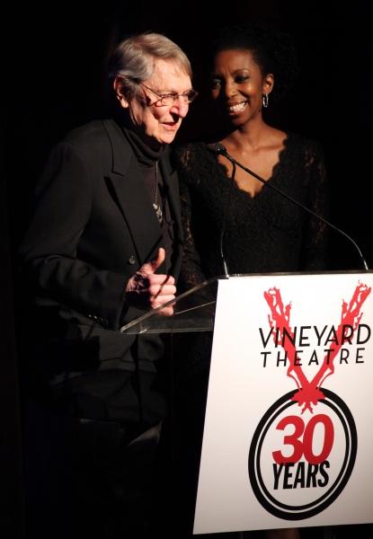 John Cullum & Sharon Washington