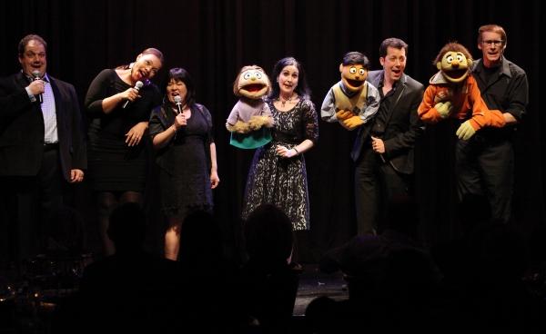 Avenue Q: Jordan Gelber, Carmen Ruby Floyd, Ann Harada, Stephanie D'Abruzzo, John Tartaglia & Rick Lyon