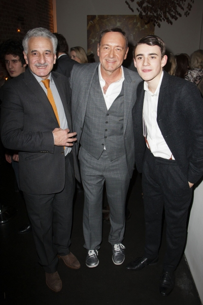 Henry Goodman, Kevin Spacey and Charlie Rowe