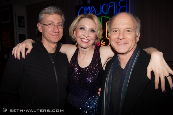 David Garrison, Julie Halston and Dan Butler