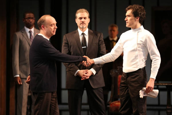 Paul Giamatti, Marc Kudisch, Tommy Schrider, and Company
