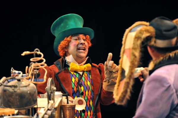 Scott Calcagno as The Mad Hatter