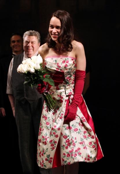 George Wendt & Emilia Clarke